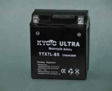 Batterie de moto YTX7L-BS