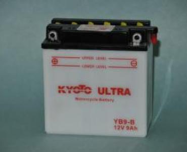 Batterie de moto YB9-B