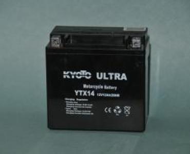 Batterie de moto YTX14-BS