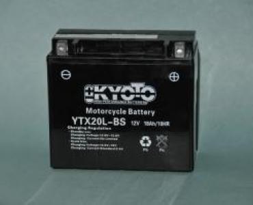 Batterie de moto YTX20L-BS
