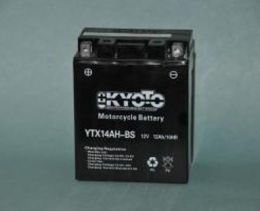 Batterie de moto YTX14AH-BS