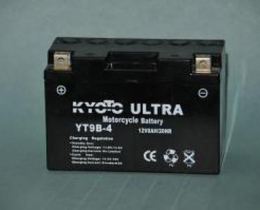 Batterie de moto YT9B-4