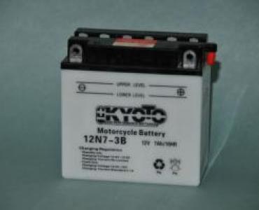 Batterie de moto 12N7-3B