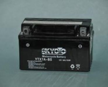 Batterie de moto YTX7A-BS
