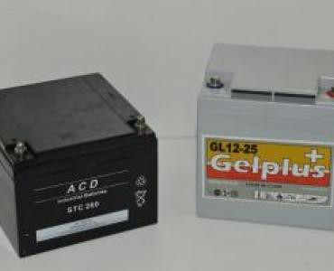 Batterie pour enrouleur