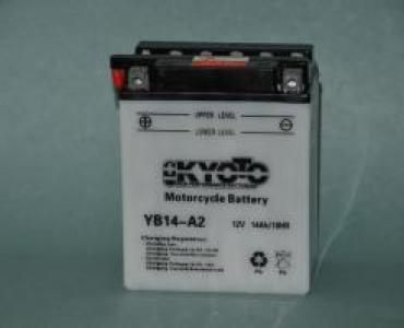 Batterie de moto YB14-A2