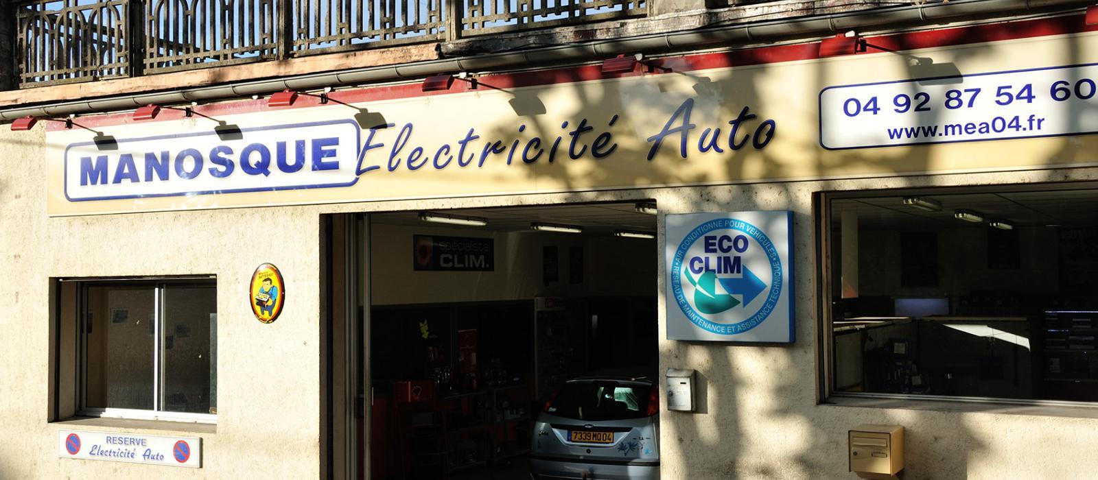Manosque Electricité Auto