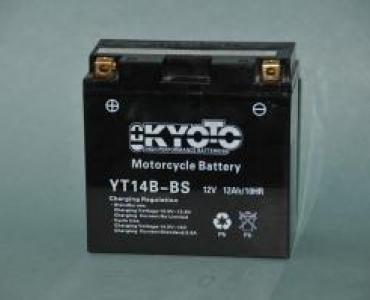 Batterie de moto YT14B-BS