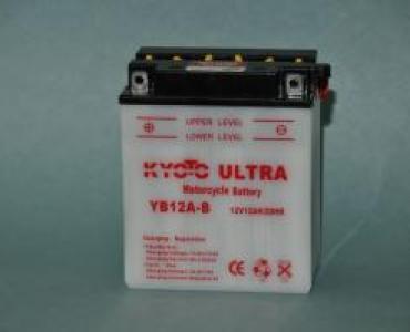 Batterie de moto YB12A-B