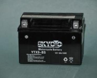 Batterie de moto YTX9-BS